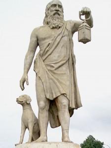 Diogenes dog skepticism